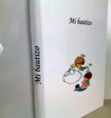 Libro de bautizo