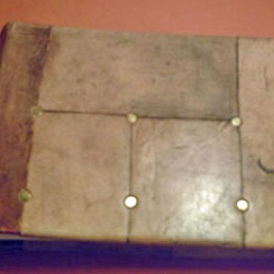 Álbum de fotos medieval