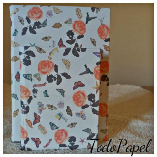 Cuadernos floreados