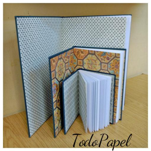 Cuadernos en tela