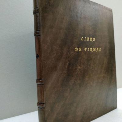 Libro de firmas - Piel completa