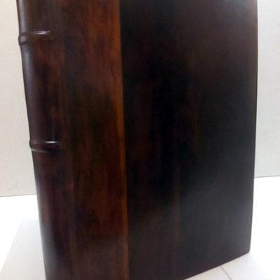 Libro de firmas en piel completa