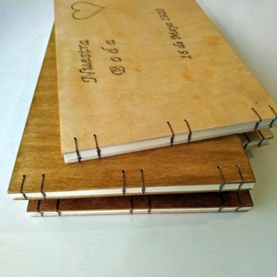 libro de firmas en madera - Personalizado