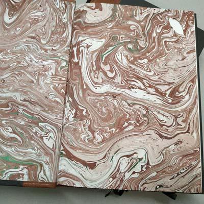 Libro de firmas - Lomo de piel