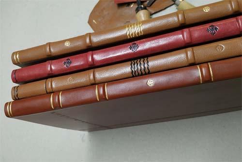 Libros de firmas en piel